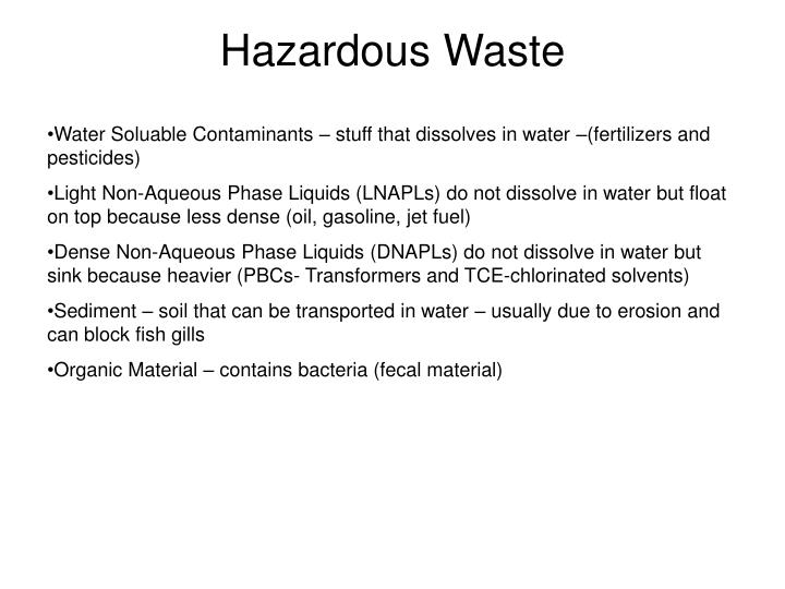 Hazardous waste2