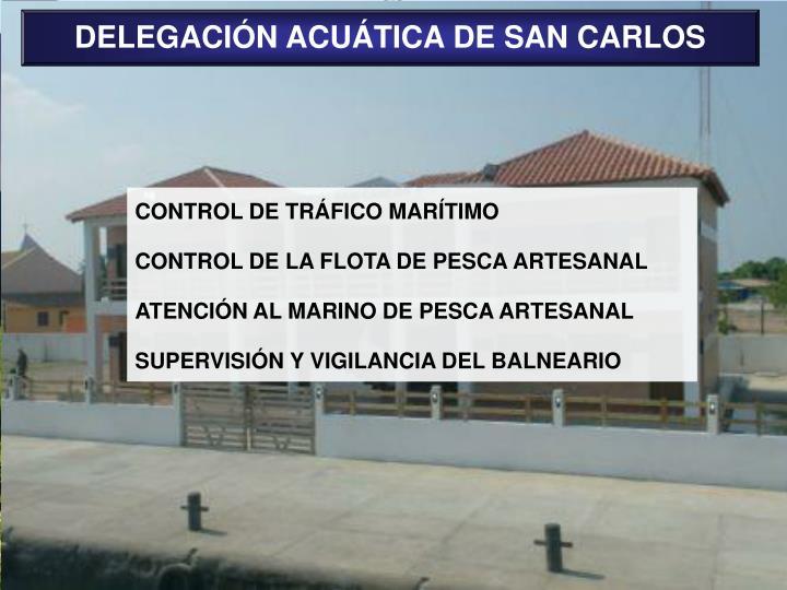 DELEGACIÓN ACUÁTICA DE SAN CARLOS