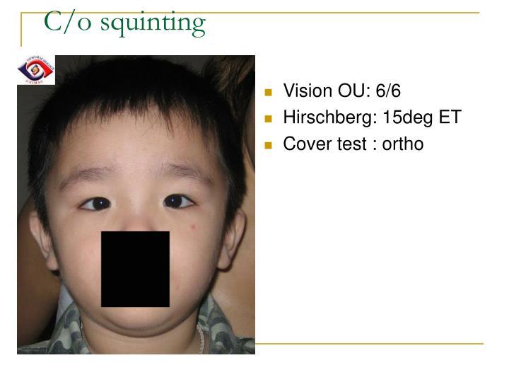 Vision OU: 6/6