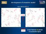 development of atomistic model2