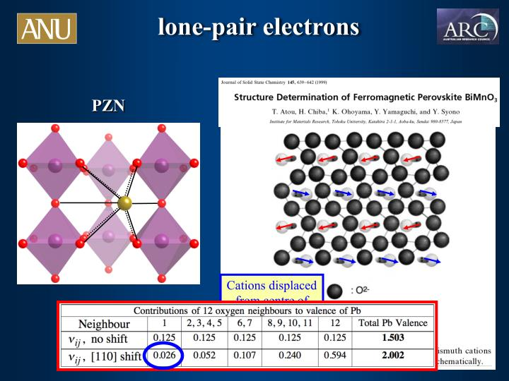 lone-pair electrons