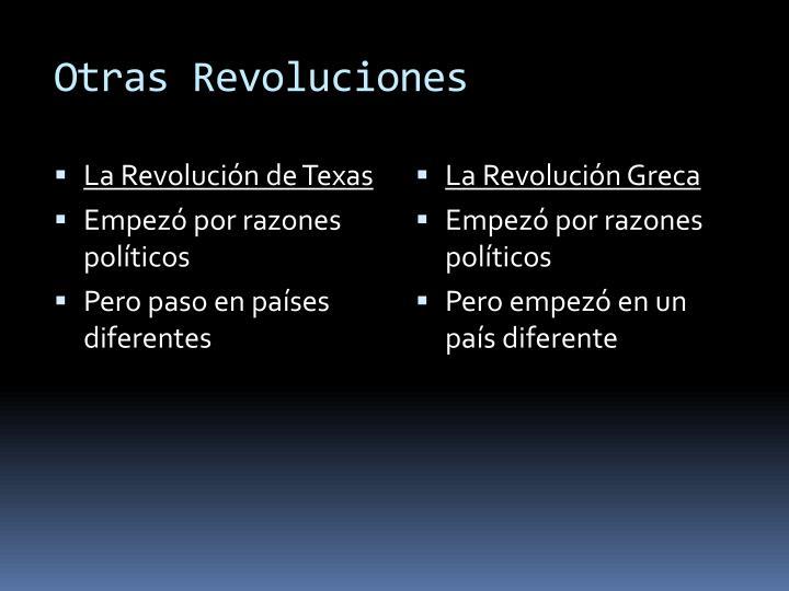 Otras Revoluciones