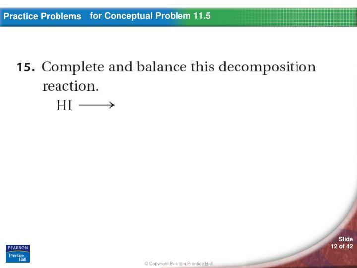 for Conceptual Problem 11.5