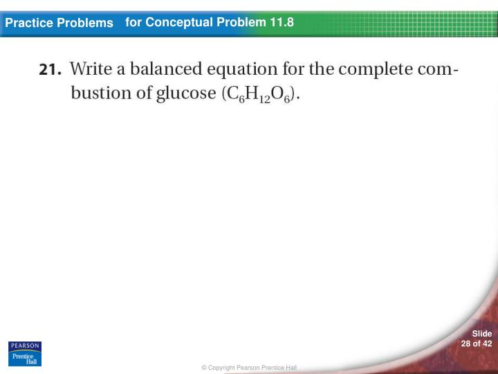 for Conceptual Problem 11.8