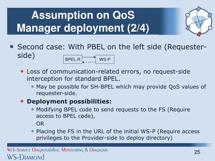 Assumption on QoS Manager deployment (2/4)