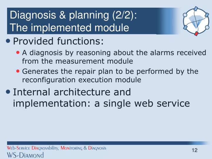 Diagnosis & planning (2/2):