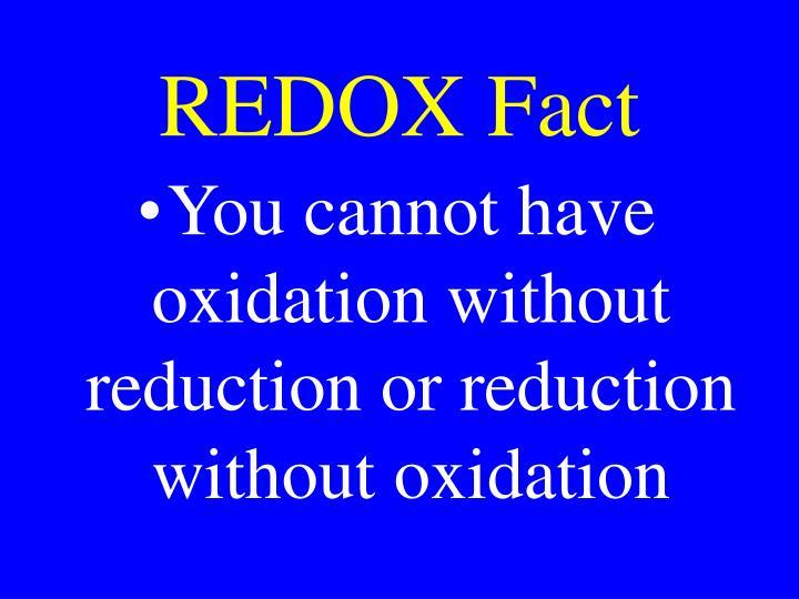 REDOX Fact