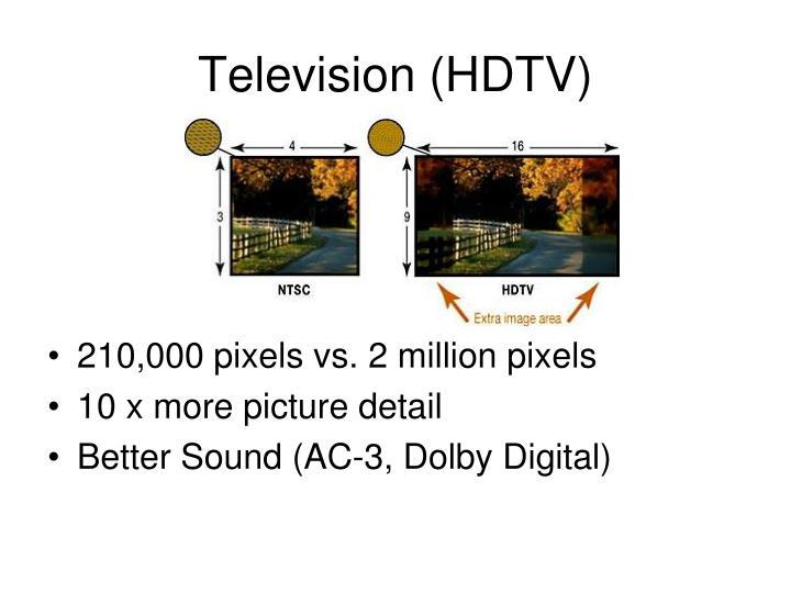 Television (HDTV)