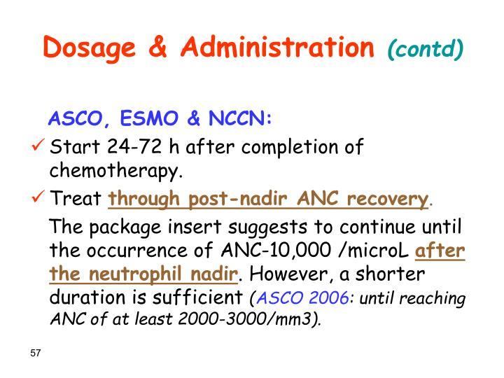 Dosage & Administration