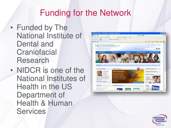 Funding for the Network