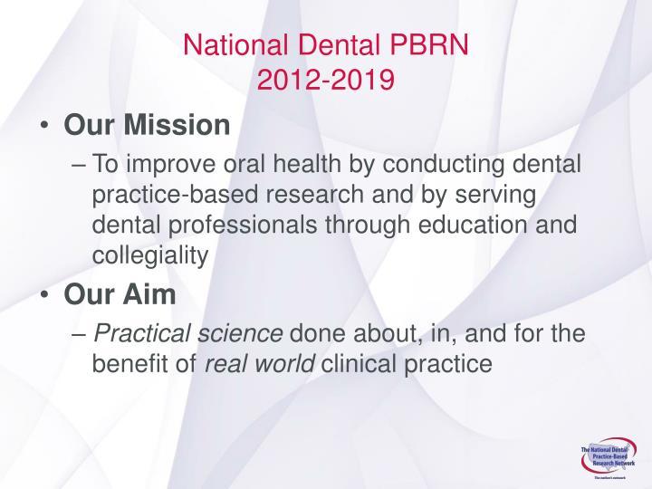 National Dental PBRN