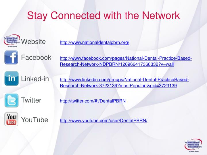 Stay Connected with the Network