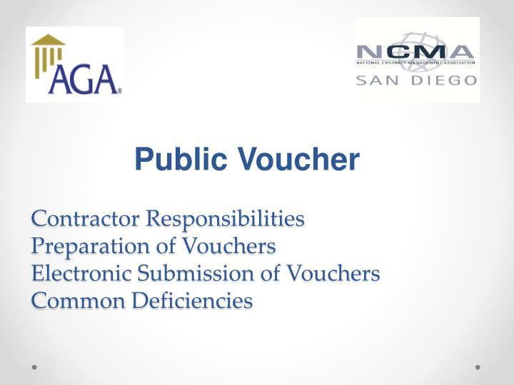 Public Voucher