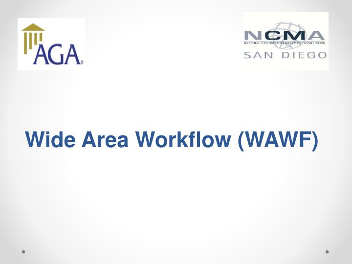 Wide Area Workflow (WAWF)
