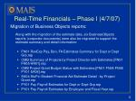 real time financials phase i 4 7 071