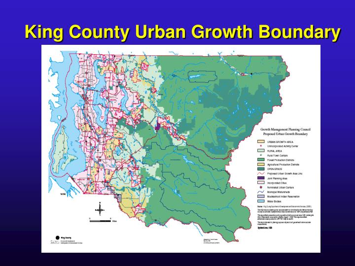 King County Urban Growth Boundary