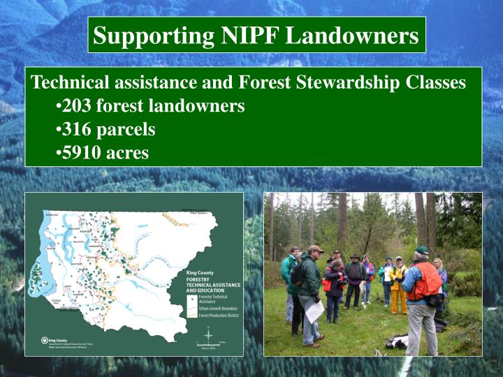 Supporting NIPF Landowners