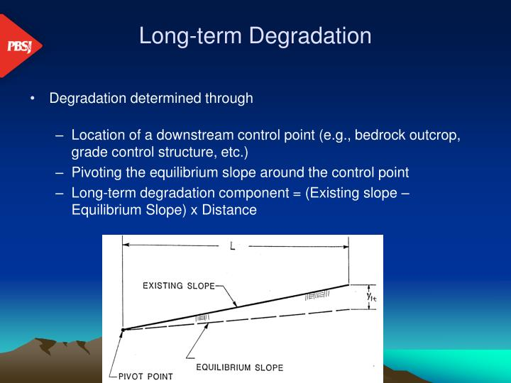 Long-term Degradation