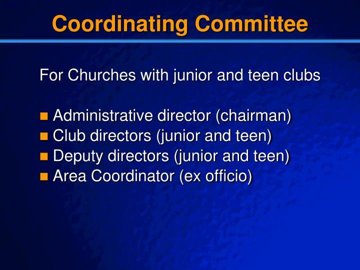 Coordinating Committee
