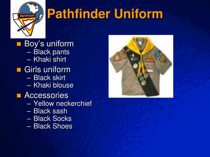 Pathfinder Uniform