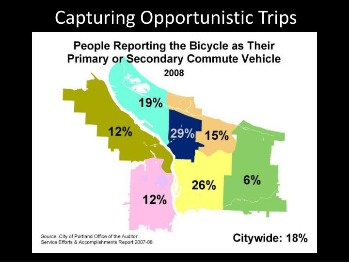 Capturing Opportunistic Trips