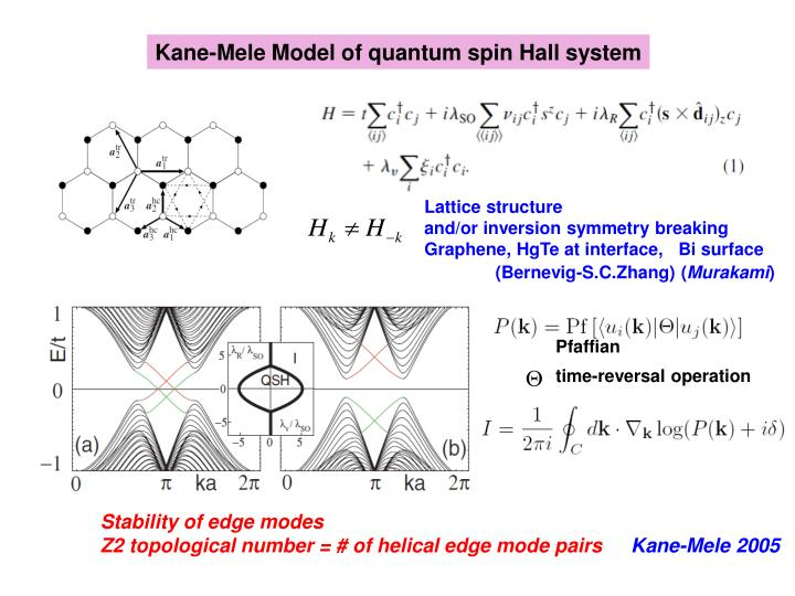 PPT - Quantum Spin Hall Effect - A New State of Matter ...
