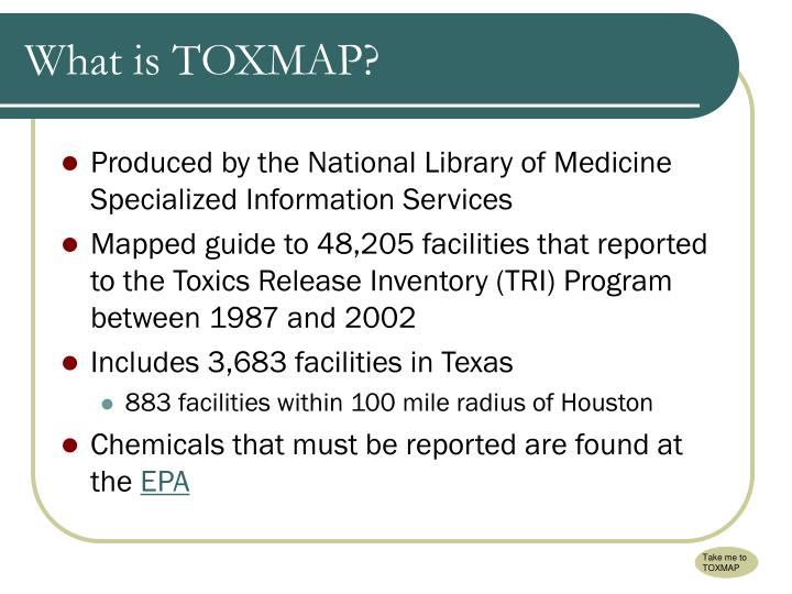 What is toxmap