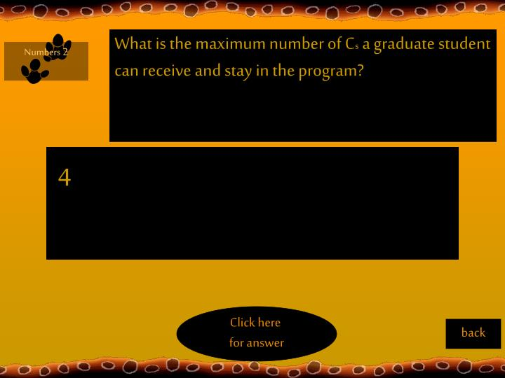What is the maximum number of C