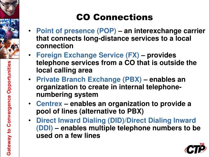 CO Connections