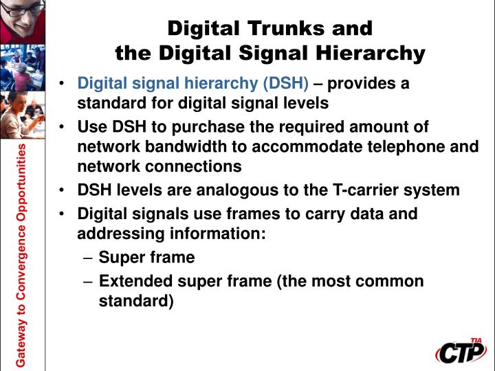 Digital Trunks and