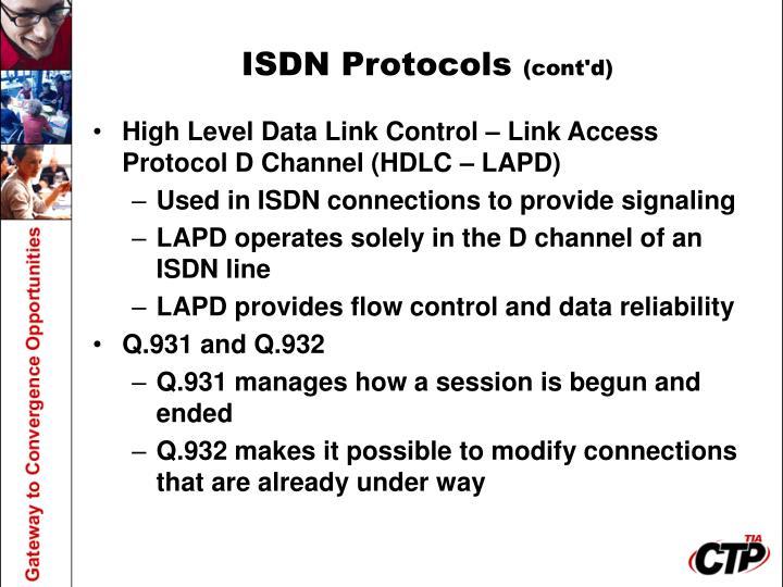 ISDN Protocols