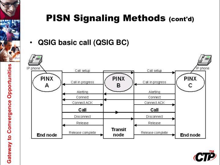 PISN Signaling Methods