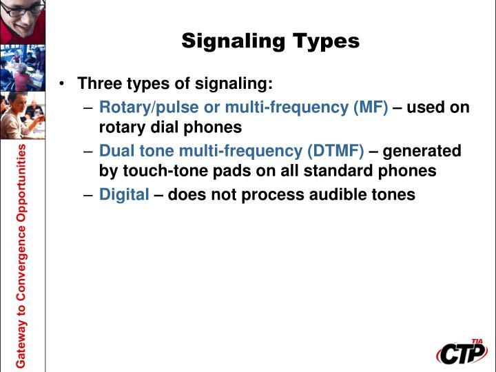 Signaling Types