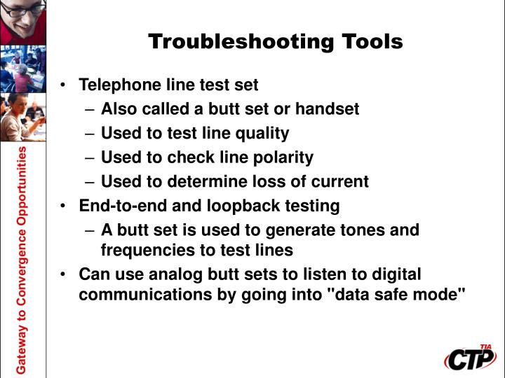 Troubleshooting Tools