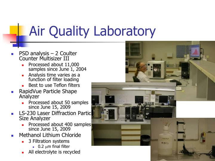 Air Quality Laboratory