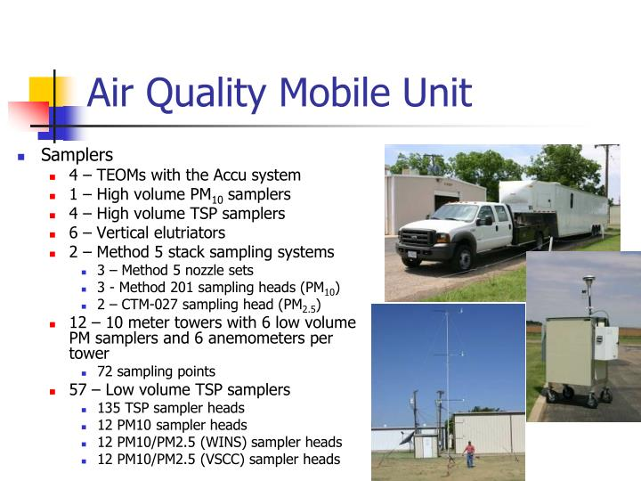 Air Quality Mobile Unit