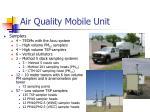 air quality mobile unit
