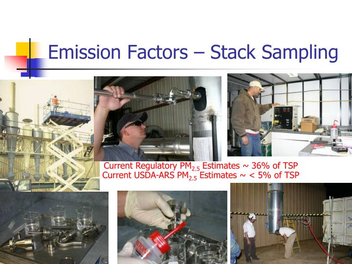 Emission Factors – Stack Sampling