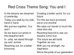 red cross theme song you and i