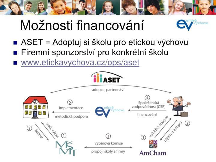 ASET = Adoptuj si školu pro etickou výchovu