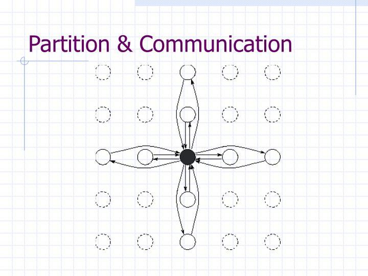 Partition & Communication
