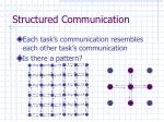 structured communication