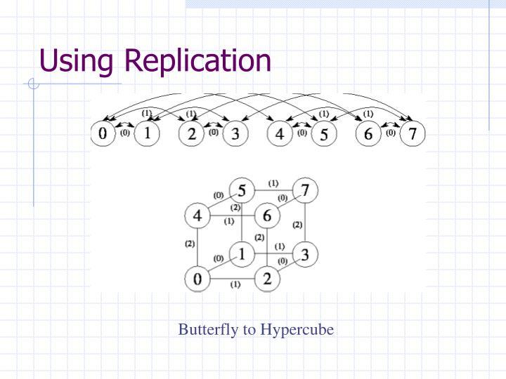 Using Replication