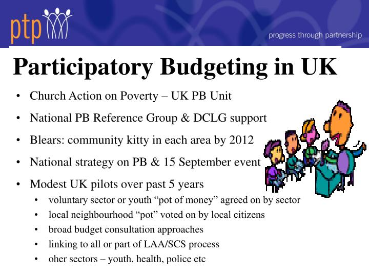 Participatory Budgeting in UK
