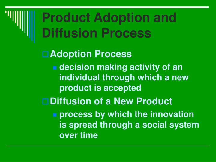 Product Adoption and