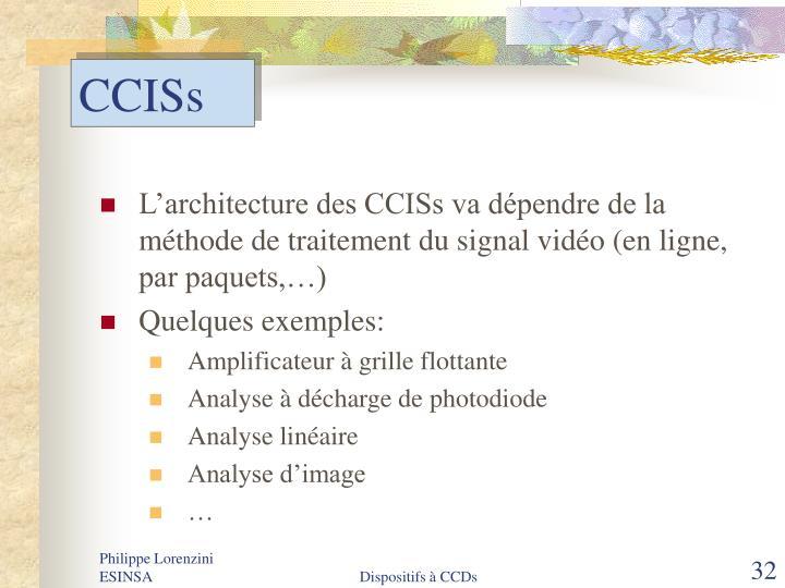 CCISs