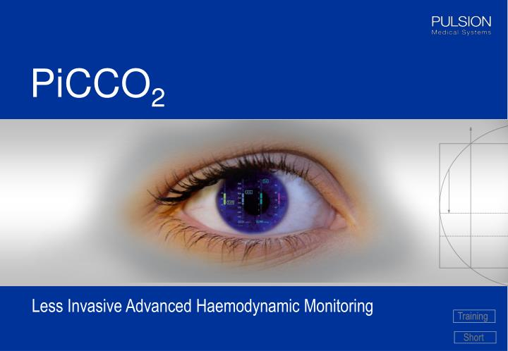 Less invasive advanced haemodynamic monitoring