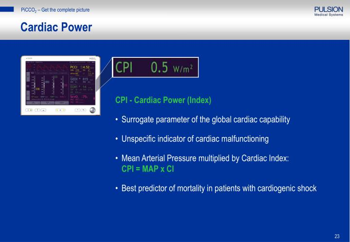 Cardiac Power