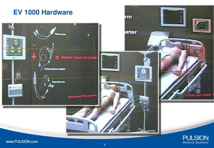 EV 1000 Hardware