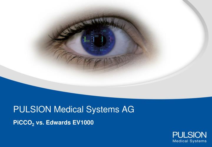 Pulsion medical systems ag